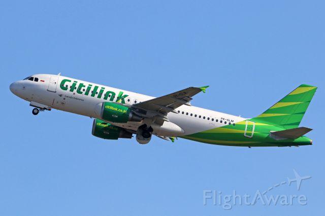 Airbus A320 (PK-GLM)