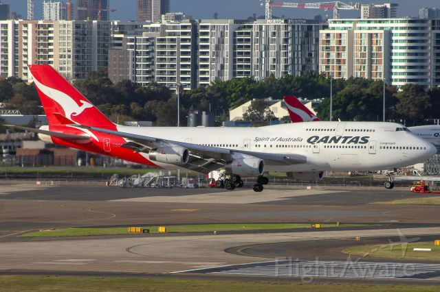 Boeing 747-400 (VH-OJT) - Fraser Island