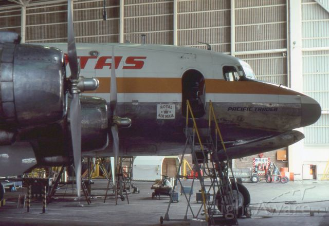 Douglas C-54 Skymaster (VH-EDA) - Photo taken in 1976 during an open day at Sydney Airport Australia. A classic aircraft.