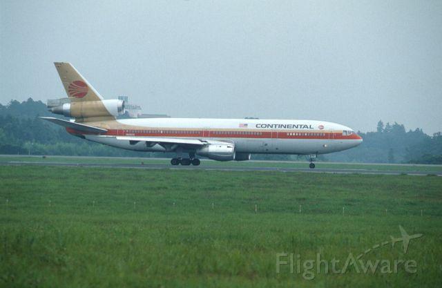McDonnell Douglas DC-10 (N68042) - Departure at Narita Intl Airport Rwy16 on 1989/08/20