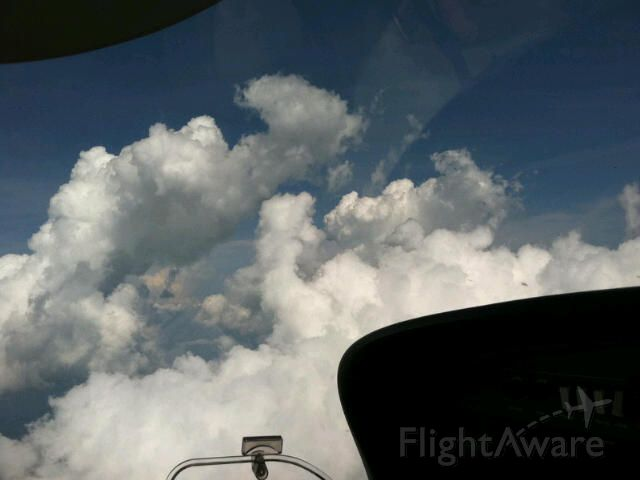 — — - Just have to love cruising pillars of cloud on a hot day!