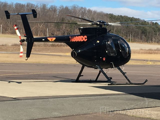 MD Helicopters MD 500 (N500DC) - Fuel stop