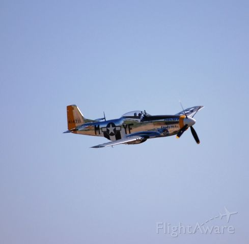 North American P-51 Mustang — - The Dakota Kid II flying in the sidney air-show.