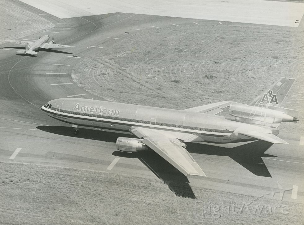 McDonnell Douglas DC-10 (N103AA) - 1971 DC-10-10br /scanned from photograph