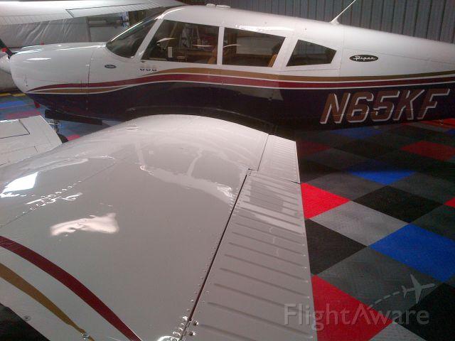 Piper Cherokee Arrow (N65KF) - All shined up and ready to return to Oshkosh!