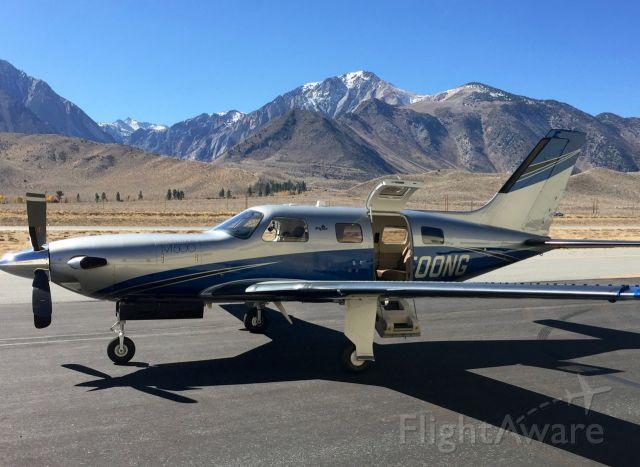 Piper Malibu Meridian (N500NG) - On the ramp at Mammoth Lakes.