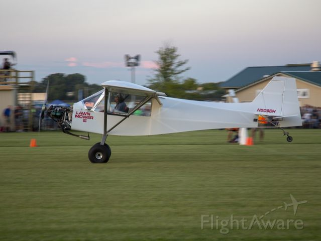 N509DH — - STOL competition at OSH18. 24 JUL 2018.