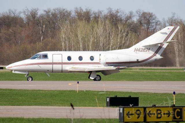 Dassault Falcon 20 (N42EH) - A FALCON 10 configured as an air ambulance.