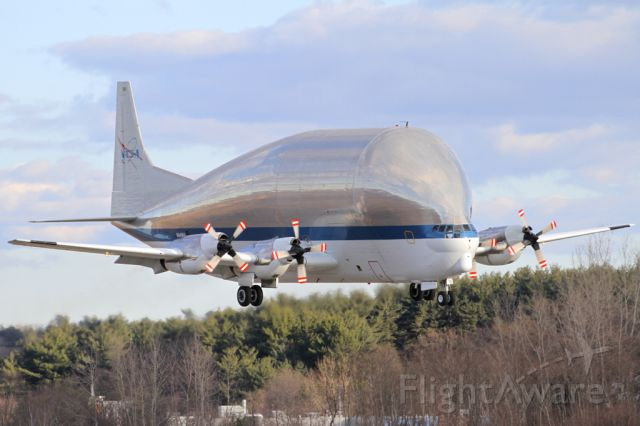 Aero Spacelines Super Guppy (N941NA) - Super Guppy visiting Boston
