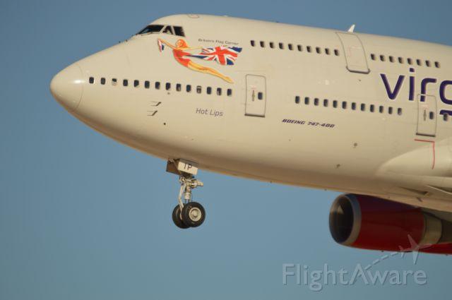 Boeing 747-400 — - Hot lips.. No Kidding..