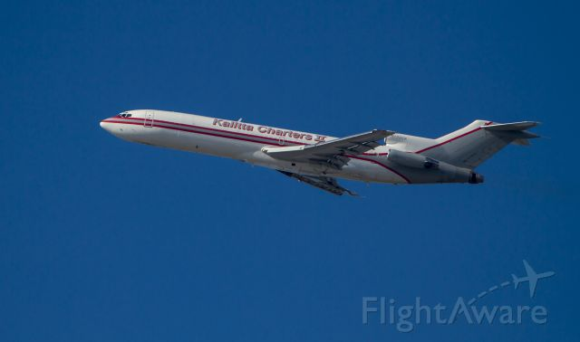 Boeing 727-100 (N722CK) - Kalitta Charters B727 departing Long Beach on Tuesday, June 24, 2014.
