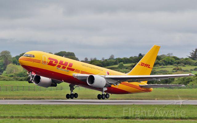 BOEING 767-200 (A9C-DHJ) - dhl b767-281f a9c-dhj dep shannon 15/5/18.