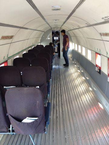 Douglas DC-3 (N500MF) - CABIN