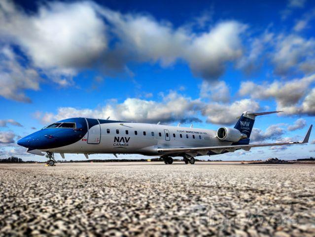 Canadair Regional Jet CRJ-200 (C-GFIO) - New Nav Canada paint scheme