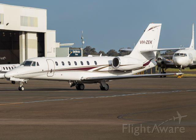 Cessna Citation Sovereign (VH-ZEK)