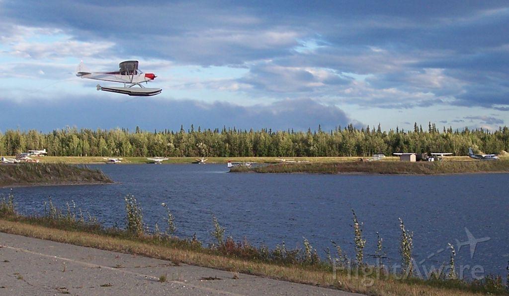 N1907A — - Beautiful day in Fairbanks, Alaska.