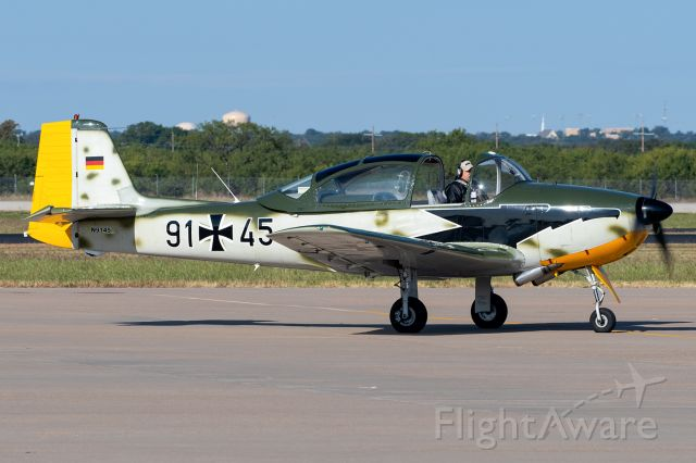 N9145 — - A beautiful Focke-Wulf FWP.149D taxiing in at Abilene Regional. Tragically, this pilot and his aircraft were lost July 4th, 2021 near Killeen, TX.