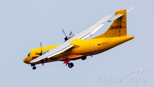Aerospatiale ATR-42-300 (YV638T) - Spotted from backyard