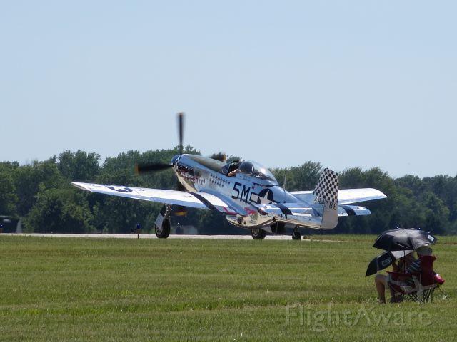 North American P-51 Mustang (N51BS) - 48-4786   Miss Margaret