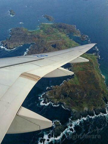 Embraer ERJ-190 (PR-ZIQ) - Inisbofin island taken while on board embraer's erj-195-e2 profit hunter pr-ziq demo tour off the west coast of Ireland 8/11/19.