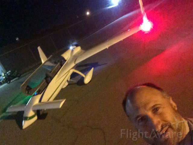 N27960 — - Next to my plane with new LED strobe/nav lights
