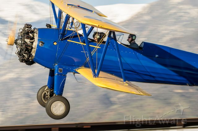 Experimental  (N4767) - Stearman at Cable Airshow 2017