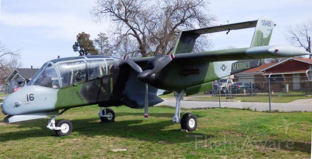 — — - North American Rockwell OV-10A Bronco