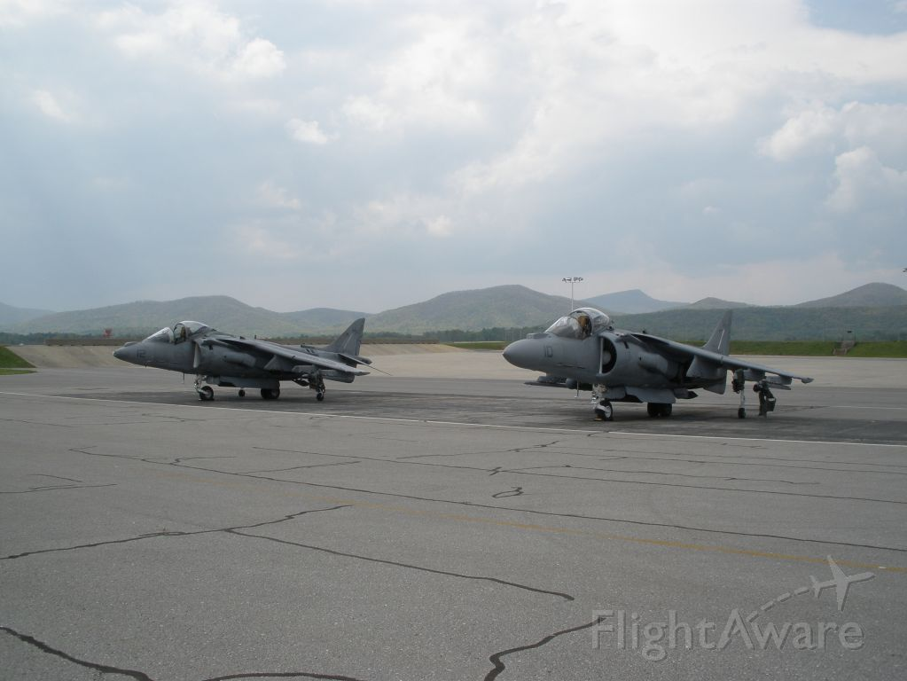 — — - 2 Harriers that came through Roanoke,Va in May 2008-VMA-223 Bulldogs out of Cherry Point,N.C.