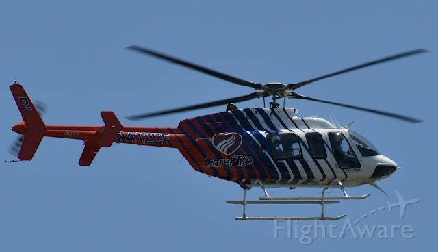 N412CF — - From my driveway as Bell 407 landed at emergency clinic one quarter mile away.