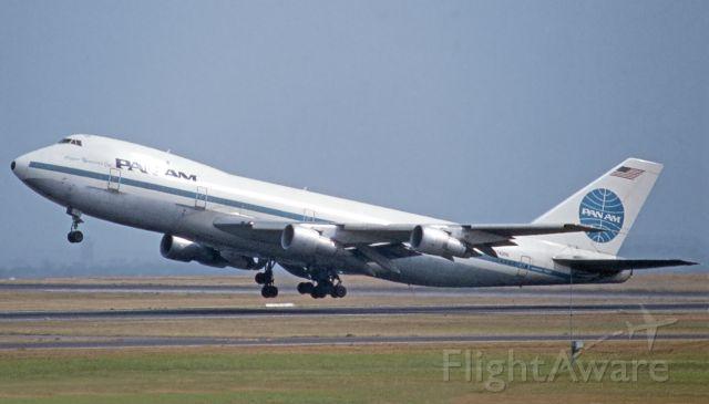 BOEING 747-100 (N742PA) - Sydney Kingsford Smith, February 20, 1982.