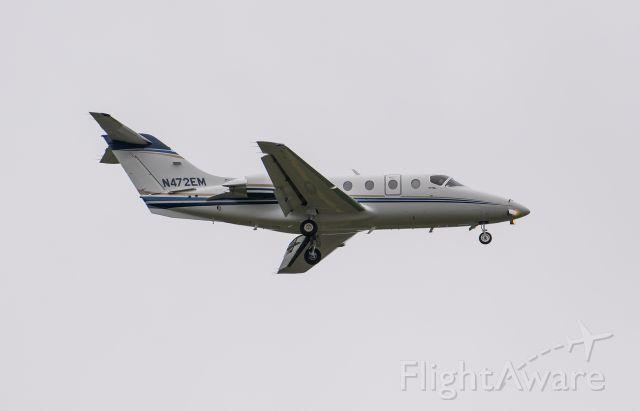 Beechcraft Beechjet (N472EM) - Arriving rwy 2L.