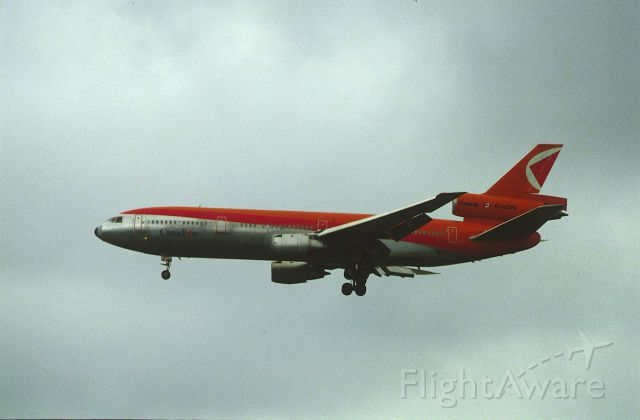 McDonnell Douglas DC-10 (C-GCPI) - Final Approach to Narita Intl Airport Rwy34 on 1987/08/02