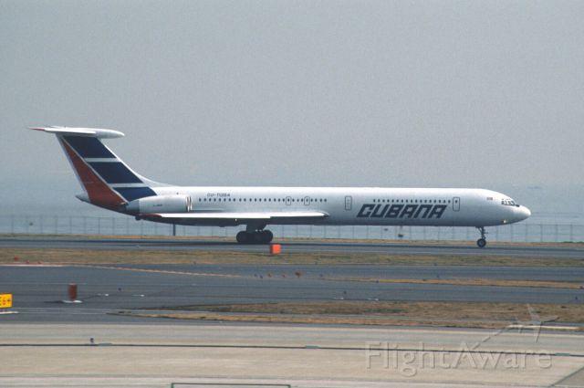 Ilyushin Il-62 (CUT1284) - Departure at Tokyo-Haneda Intl Airport Rwy16L on 2003/03/03