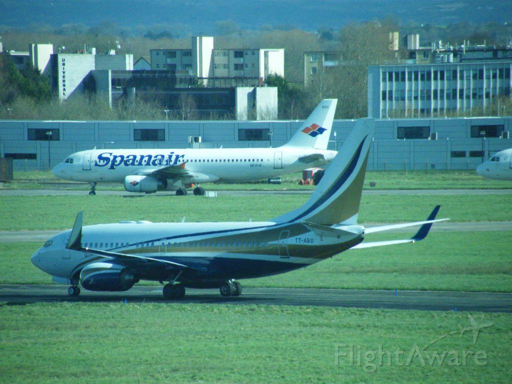 Boeing 737-700 (TT-ABD) - TT-ABD B737 BBJ OF TCHAD GOV AT EINN 07-03-2012