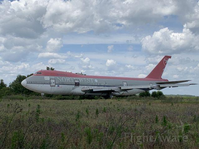 Boeing 747-200 — - This Queen has seen better days.