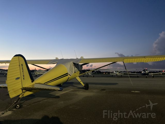 N2219K — - Sunset in South Florida