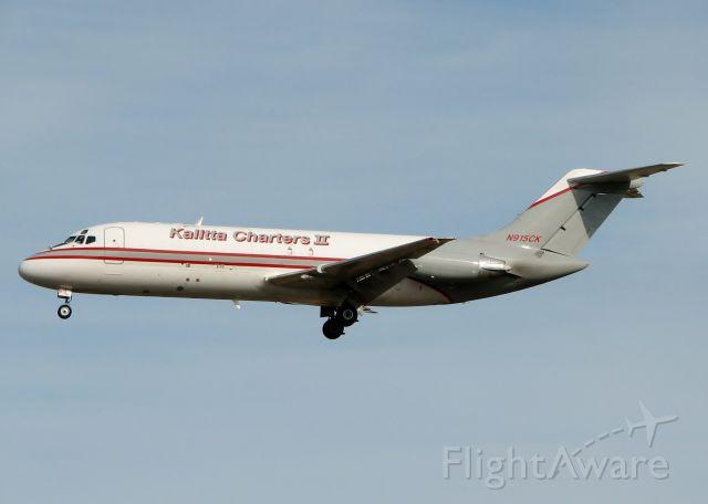 Douglas DC-9-10 (N915CK) - Landing at Shreveport Regional.