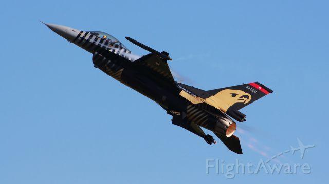 91-0011 — - Solo Turk at Waddington International Airshow 2013