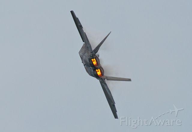 Lockheed F-22 Raptor — - F22 at KYIP