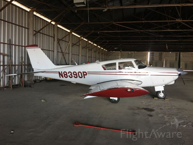 Cessna Skyhawk (N8390P) - Hangared in Uvalde, TX