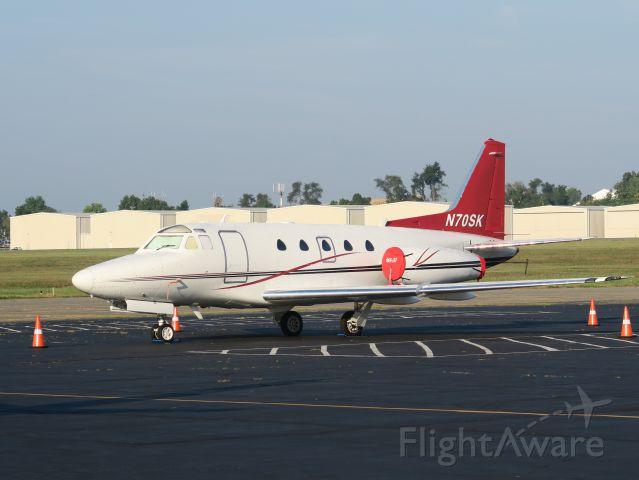 North American Sabreliner (N70SK) - Great aircraft!