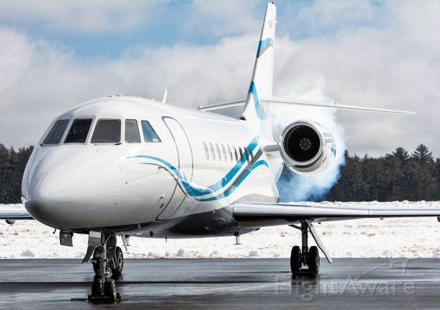 Dassault Falcon 2000 (N724AP) - Cold start, Falcon 2000
