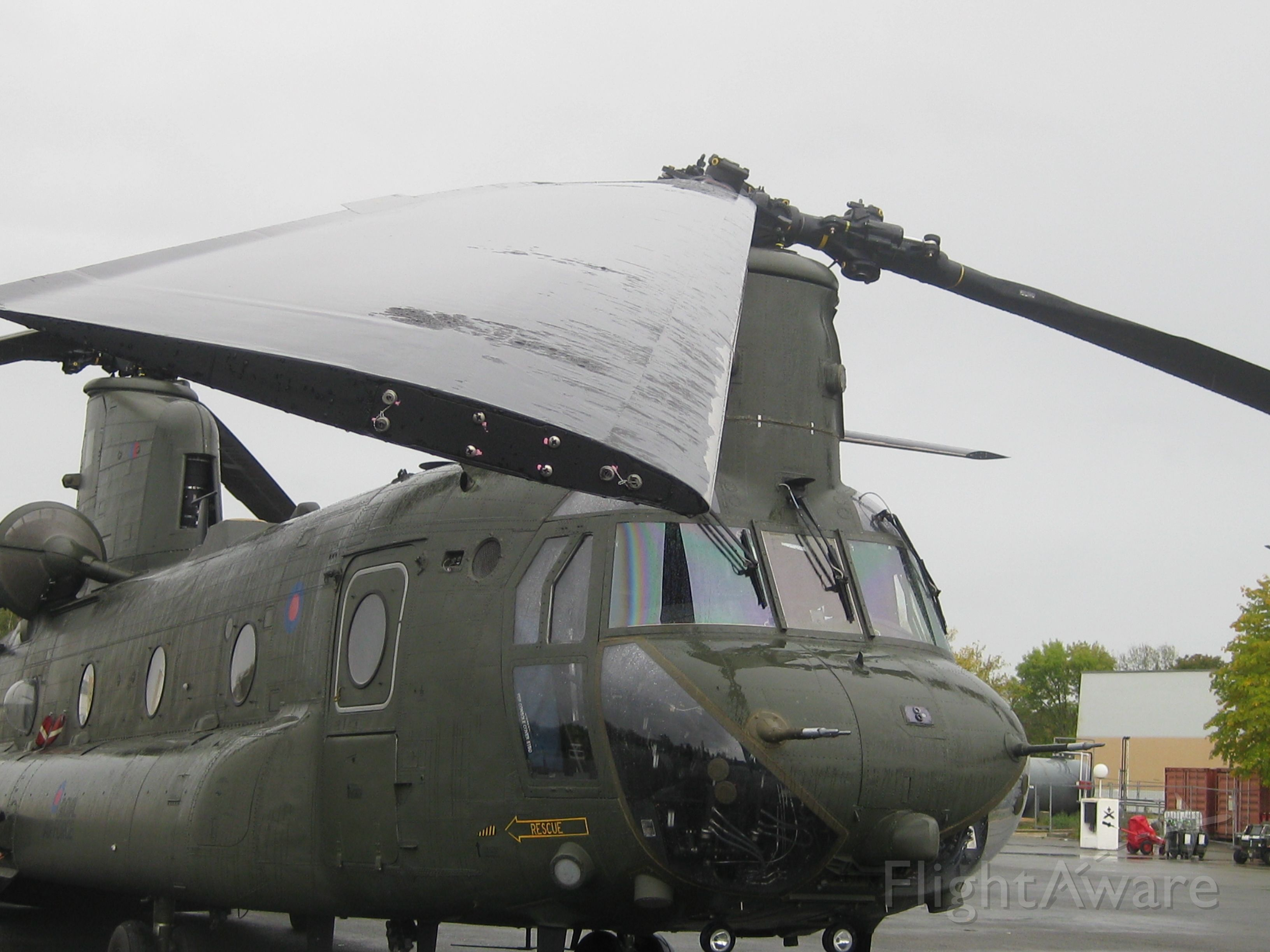 — — - Combined Exercise BLACKHAWK .France OCT2019<br />CH47 R.A.F