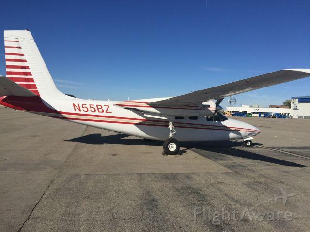 Aero Commander 500 (N55BZ) - Boise Idaho