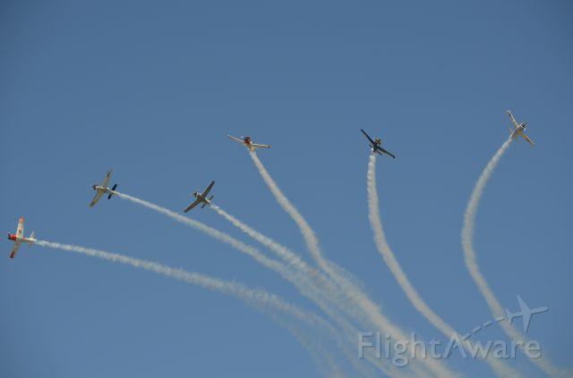 — — - EAA 2011 formation break.