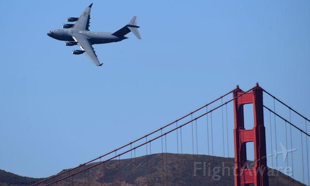 Boeing Globemaster III (99-0062) - SF Fleet Week 2021