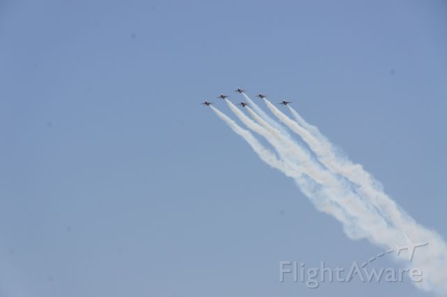 — — - USAF Thunderbirds over Las Vegas Speedway