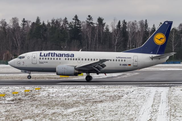 Boeing 737-500 (D-ABIU)