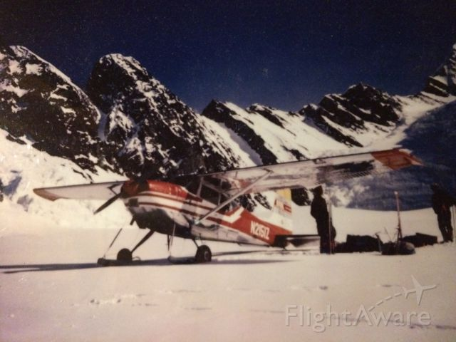 Cessna Skywagon 180 (N2151Z) - Yanert Glacier. Alaska Range