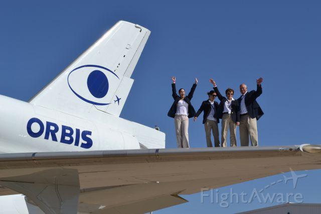 — — - ORBIS Flying Eye Hospital (N220AU)